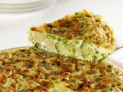 Spanish Vegetable Tortilla
