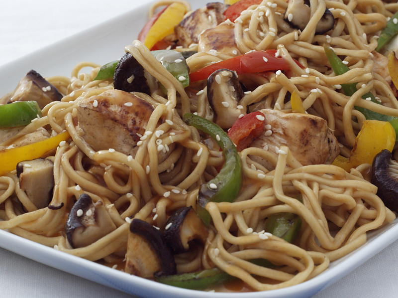 Chicken and noodle stir fry cookstr forumfinder Choice Image