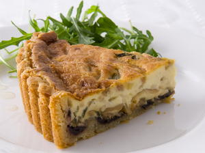 Olive, Thyme, and Onion Tart
