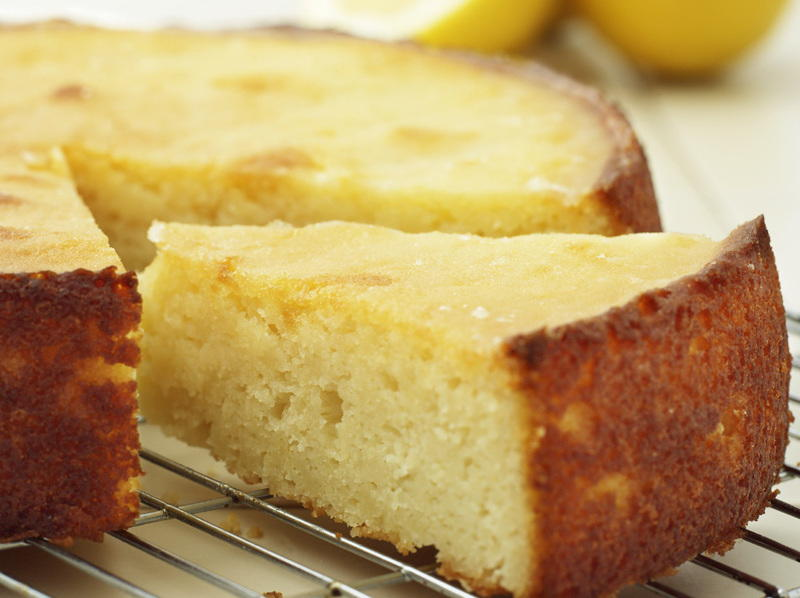 Sticky Lemon Cake Cookstr Com