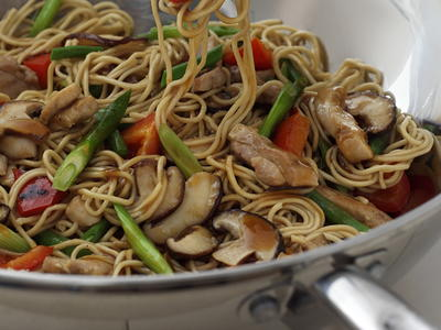 Chicken chow mein cookstr this popular one pot chinese dish is a colorful tasty medley of noodles chicken mushrooms and vegetables forumfinder Image collections