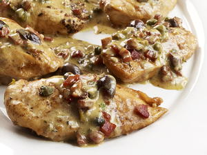 Chicken with Pancetta