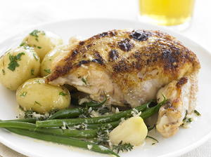 Chicken Breasts in Garlic Sauce