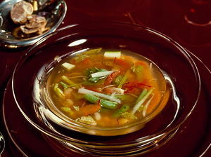 Pistou: Mediterranean Vegetable Soup with Basil Sauce