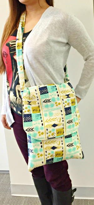 Jumbo Flip Flap Messenger Bag