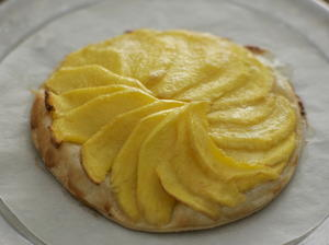 Mango Tart With Quick Puff Pastry