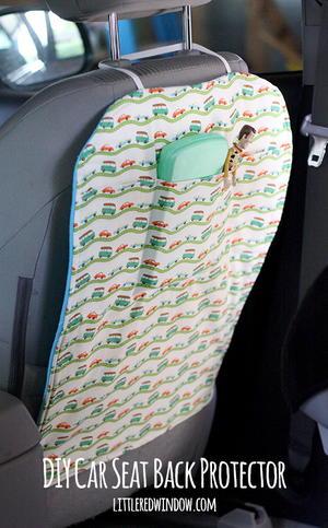 DIY Car Seat Back Protector