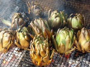Grilled Artichokes
