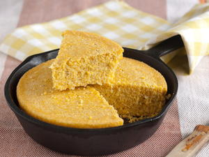 Dairy Hollow House Skillet-Sizzled Cornbread