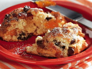 Apricot Chip Scones