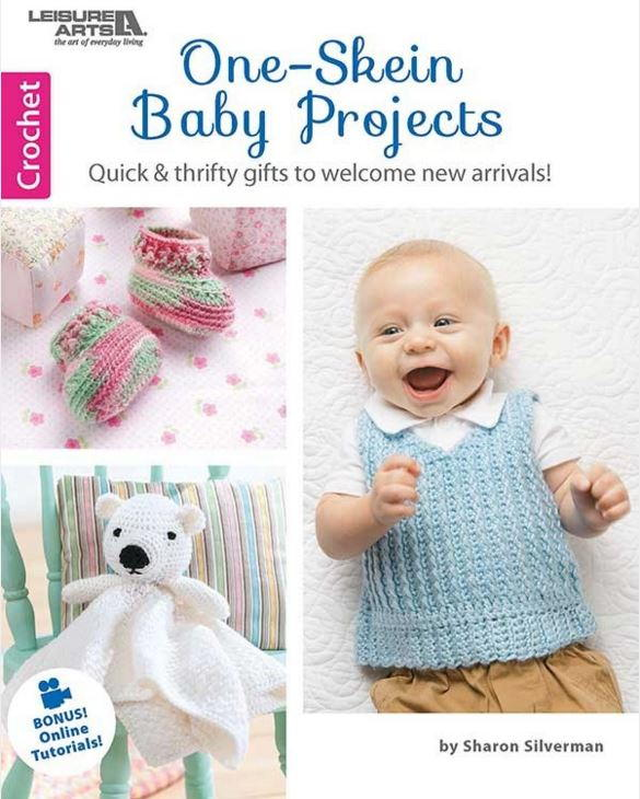 One-Skein Baby Projects | AllFreeCrochet.com