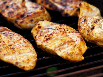 grill long chicken Breast