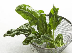 Warm Spinach and Basil Salad