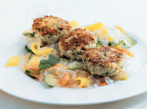 Asian Chicken and Water Chestnut Patties