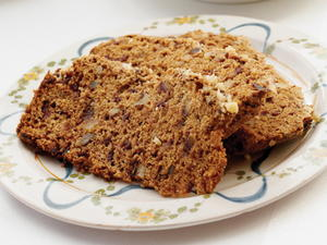 Date-Sweetened Walnut Loaf