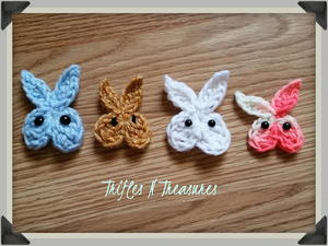 5 Minute Bunny Applique