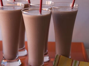 Mexican Chocolate Shake with Chipotle and Almond