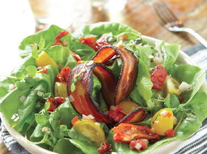 Gigi BLT Salad with Roasted-Tomato Vinaigrette