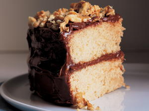 Banana Layer Cake with Fudgy Frosting or Tangy Vanilla Frosting