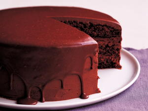 Layered Chocolate Mousse Cake