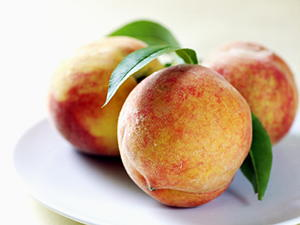 Roasted Glazed Peaches