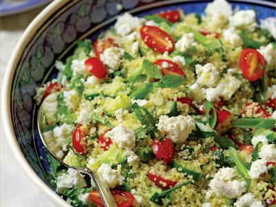 Mediterranean Couscous Salad Cookstr