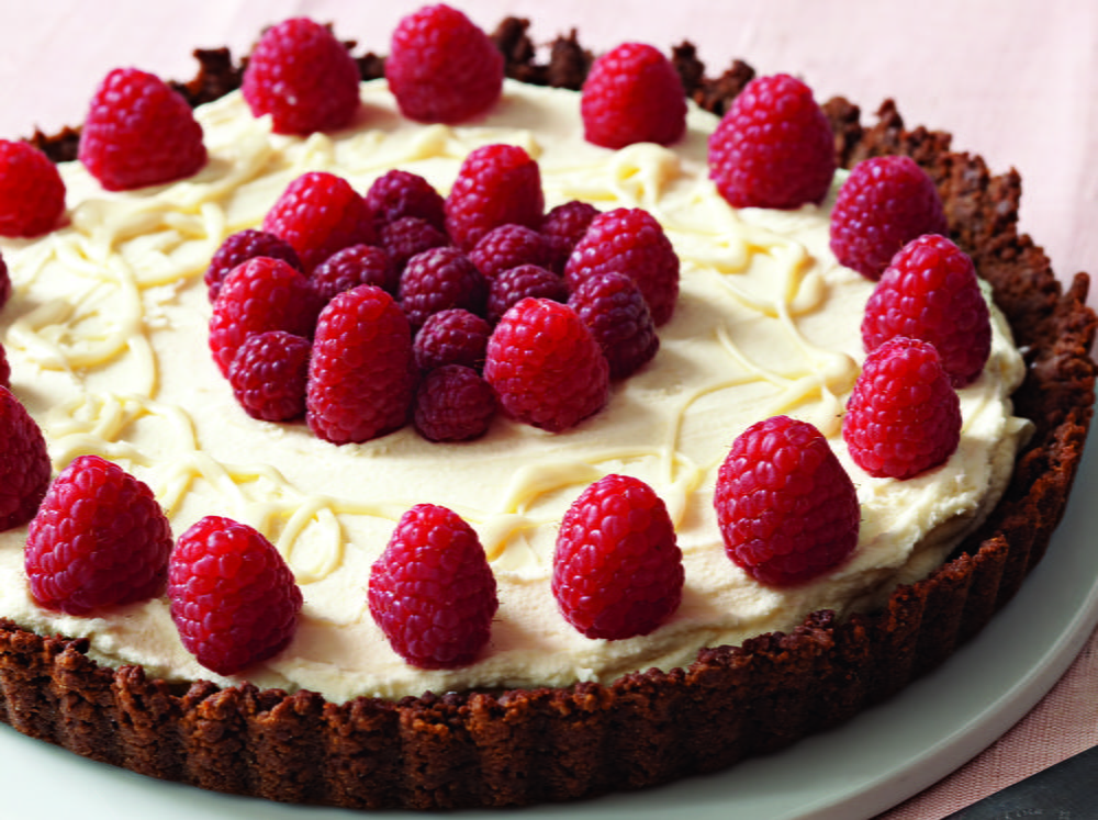 recipe: raspberry and white chocolate tart recipe [12]