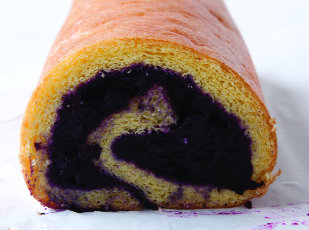 Jelly Roll Cake Recipe And Procedure: Grand Old-Fashioned Blueberry Jelly Roll