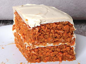 Enlightened Carrot Cake