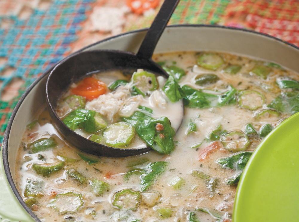 caribbean calilou soup cookstrcom