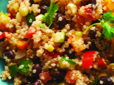 Peruvian quinoa and vegetable salad cookstr my notes forumfinder