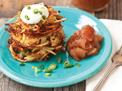 Potato pancakes with applesauce cookstr potato pancakes with applesauce ccuart Image collections