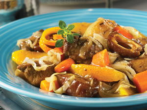 Lamb Tagine with Oranges and Dates