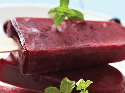 Pomegranate Berry Ice Pops