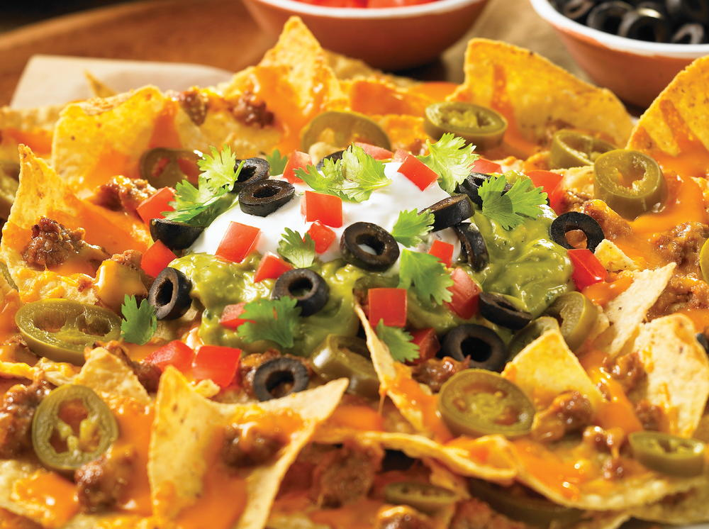 Ideas For Mexican Dinner Party Part - 34: Nachos Grande