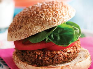 30 easy vegetarian dishes cookstr sunflower seed and quinoa burgers forumfinder Gallery