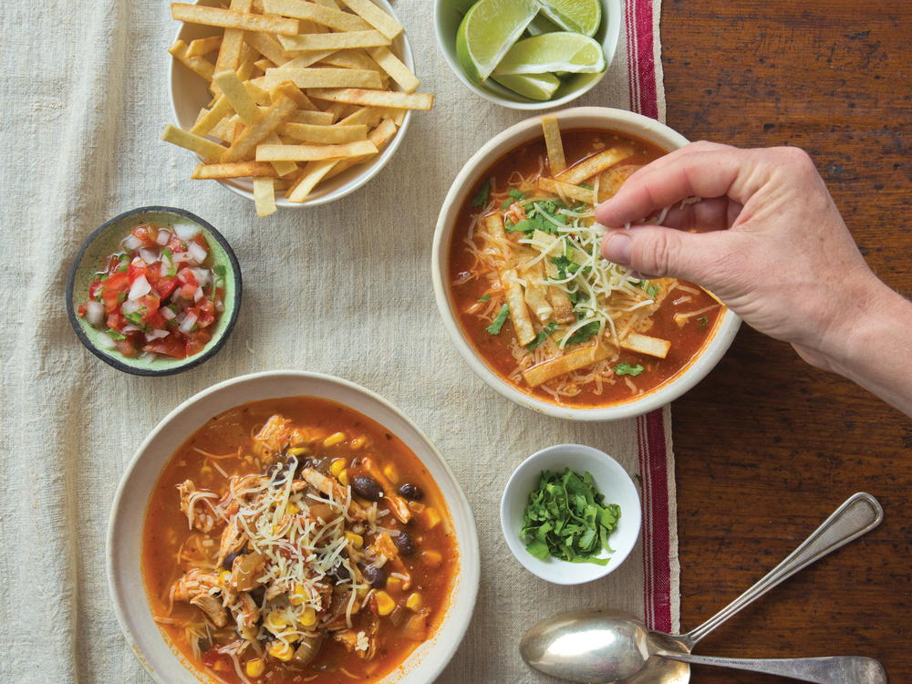 Lovely Mexican Dinner Party Menu Ideas Part - 13: Mexican Tortilla Chicken Soup