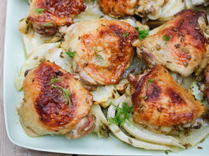Chicken Traybake with Bitter Orange and Fennel