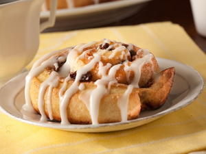 Overnight Cinnamon Rolls with Lemon Glaze