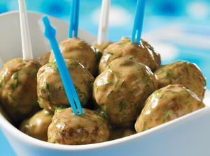 Oh-So-Retro Swedish Meatballs