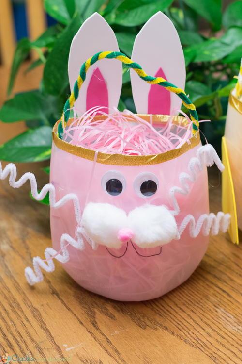 Adorable diy easter baskets allfreeholidaycrafts adorable diy easter baskets negle Image collections