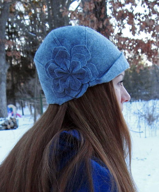 1920s Cloche Hat Pattern | AllFreeSewing.com