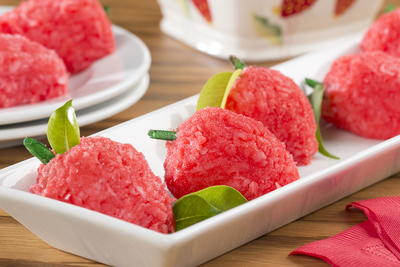 Coconut Strawberries