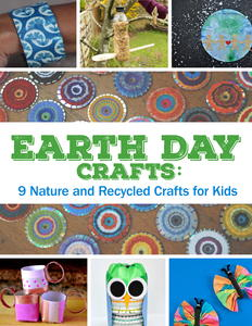 Earth Day Crafts: 9 Nature and Recycled Crafts for Kids