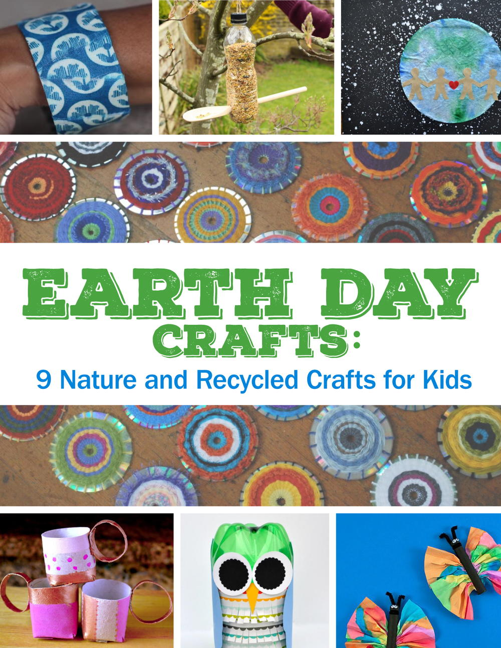 Earth Day Crafts 9 Nature And Recycled For Kids