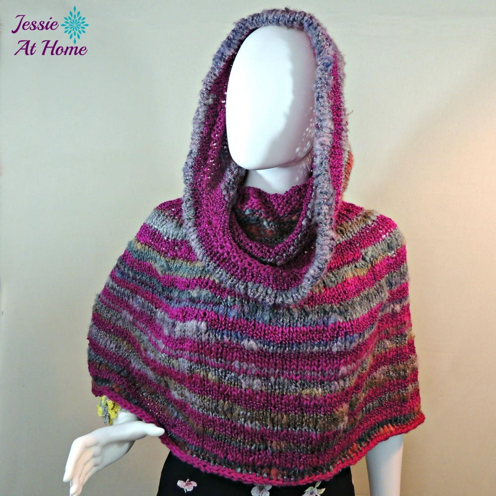 Magical hooded poncho allfreeknitting bankloansurffo Image collections