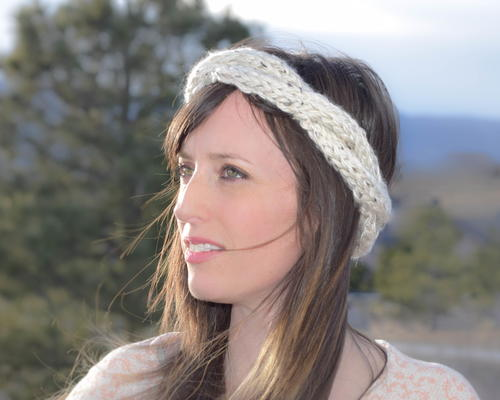 Spring Crown Knit Headband