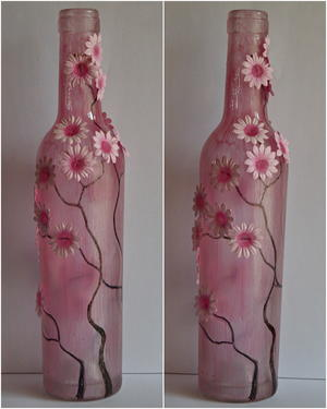 Tipsy Daisy Wine Bottle Upgrade