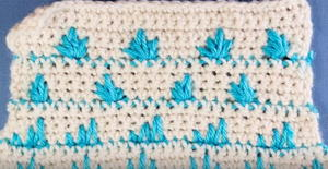 Crochet Stitches: How to Crochet the Spike Stitch