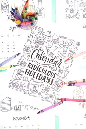 Ridiculous Holidays Coloring Pages